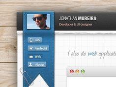 Dribbble - New portfolio online! by Jonathan Moreira #dribbble #portfolio #jonathan #moreira #online #new