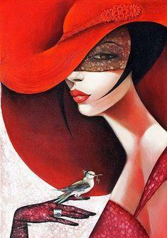 Paintings by Ira Tsantekidou   Cuded #ira #tsantekidou #paintings