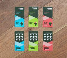 Yoobi | Identity Designed #branding #design #sushi #brand #logo
