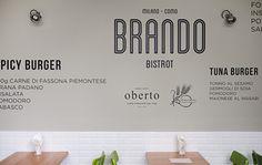 Brando on Behance #menu