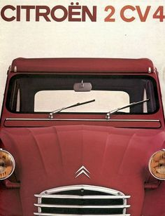 The fantastic Citroen 2cv pages #citroen #2cv #design #vintage