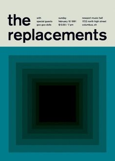 the replacements at newport hall, 1991 - swissted
