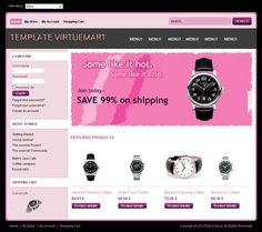 Our Best Template Virtuemart is used If you want to build your web store around the Virtuemart shopping cart in Joomla. Thus you ensure tha #webtemplates #shoptemplates #virtuemart #shop #best #store #templates #virtuemartshop #webdesign #template