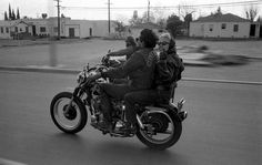 Bikers by Bill Ray #inspiration #white #black #photography #and