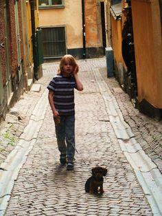 Stock Home 2011 on Behance #sweden #kid #child #puppy #stockholm