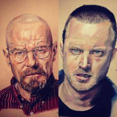 CJWHO ™ (Breaking Bad Drawings by Andrew Wilson Get ready...) #amazing #breaking #wilson #design #illustration #art #drawing #bad #andrew