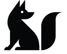 The Fox Is Black #fox #black #thefoxisblack #identity #blog #symbol #logo
