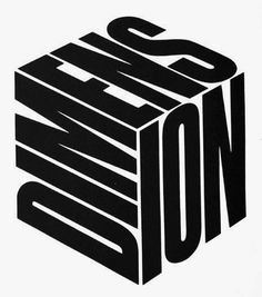 Herb Lubalin — Dimension #icon #logo #logotype #dimension