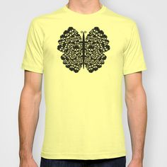 Kelebek #skull #tshirt #men