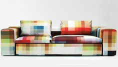 Pixel Sofa - markpascua.com #furniture #geometric