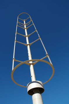 Vertical axis wind turbine spins into business | Green Tech CNET News #turbine #wind #vertical