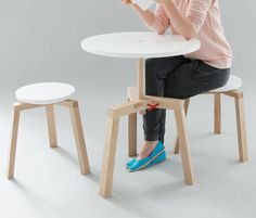 Adjustable Multifunctional Furniture by Agnieszka Mazur Photo #interior #design #industrial