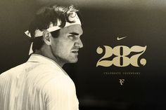 Celebrate Legendary on the Behance Network #nike #typography