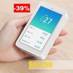 Xiaomi #Mija #Air #Detector #Air #Quality #Monitor #- #WHITE