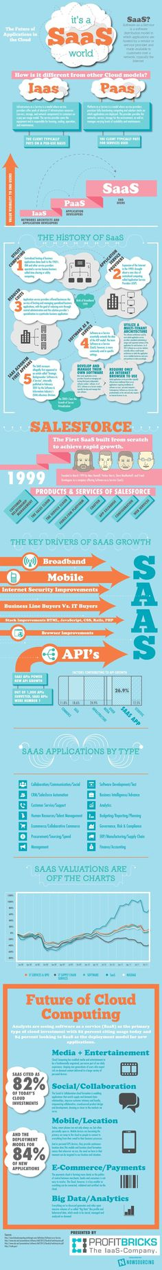 Cloud Computing and SaaS – Software Delivery in 2013 #infographic