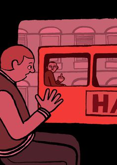 Jean Jullien - Handsome Frank Illustration Agency #illustration