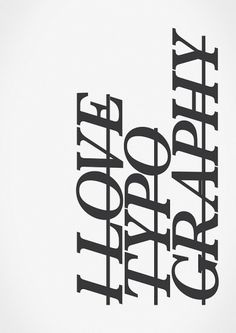 365+One Quarter // Type Journal on Typography Served #poster #typography