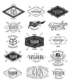 BMD Design Yasakin #lettering #apparel #branding #design #bmd #typography