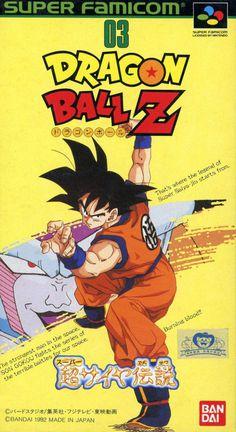 Dragon Ball Z: Chou Saiya Densetsu, Super Famicom.