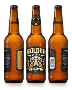 GoldenFleece #packaging #beer #label