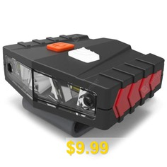 Portable #Sensor #Cap #Clip #Light #LED #Headlight #for #Outdoor #- #BLACK