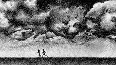 """""""Fingerprint"""" Ink Drawings by Nicolas Jolly   PICDIT"""