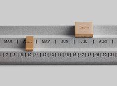 Perpetuum Calendar / on Behance