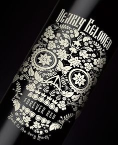 dearlybeloved2.jpg (400×490) #ornate #bottle #label #wine #skull