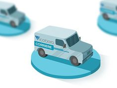 Delivery Van icon #icon #van #delivery #iconography