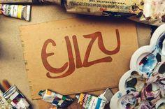 Ejizu : Free Marker Script Font