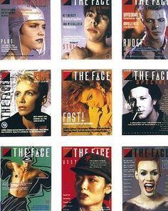 kingy graphic design history: ROXY: 1980's #print #magazine