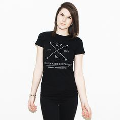 NKSP Shirt Logo schwarz W #fashion #arrows #textile #shirt