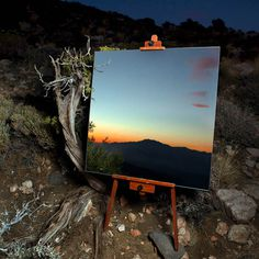 kukla 3 #abstract #illusion #mirror #photography #painting #art #desert