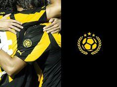 Branding Club Atlético Peñarol on the Behance Network #montevideo #uruguay #bicco #del #fabian #campeon #siglo #pearol