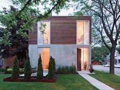 Home, façade, garden