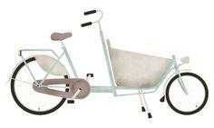 Bakfiets (by smpl8) #texture #illustration #bakfiets #bike #messengerbike