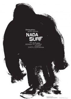 Baubauhaus. #poster #black and white #ink #surf
