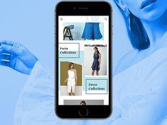 Navigation Interaction #navigation #interaction #mobileapp #fashionapp