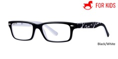 Black/White RayBan Eyeglasses ORY1535 - Black/White - Grey/Blue - Black/Red - Blue/Red.