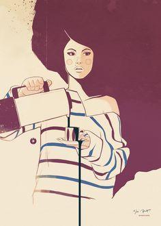 Designchapel — Robert Lindström #poster #girl