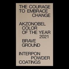 Brave Ground unveiled Color Yea - filipposfragkogiannis | ello