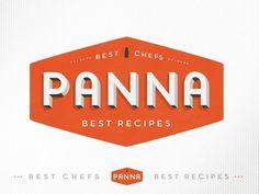 Dribbble - Panna app logo by kellianderson