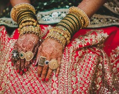 Elegant Bangles Sets for your wedding: Charm up and Chunk Your Bangles