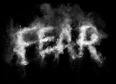 FEAR typography for Secret Deodorant / Leo Burnett on Typography Served #type image