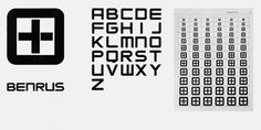Thinking Rudolf de Harak. 04 10 1924 | THINKINGFORM #trademark #de #1967 #harak #rudolf #alphabet #typography