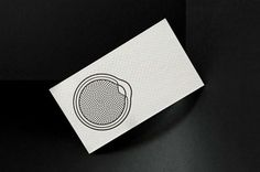 New York Ophthalmology Business Cards #geometry #branding #business #card #print