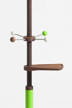 Adjustable coat rack by Coordination Berlin
