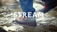 Nick Brue - Personal network #film #white #stream #typography