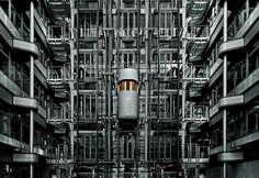 Ludwig Erhard Haus by Ralf Wendrich #erhard #ludwig #haus #modern #ralf #wenderich #futuristic #photography #architecture #future #berlin