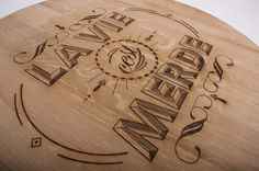Wood Typography Engraving on the Behance Network #engraving #wood #typography